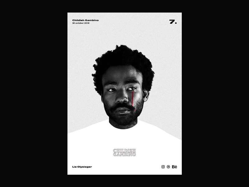 Poster day 7 | Childish Gambino