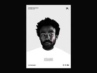 Poster day 7 | Childish Gambino