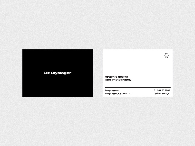 Personal branding | business card