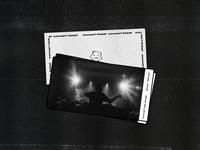 Concert ticket | birthday card