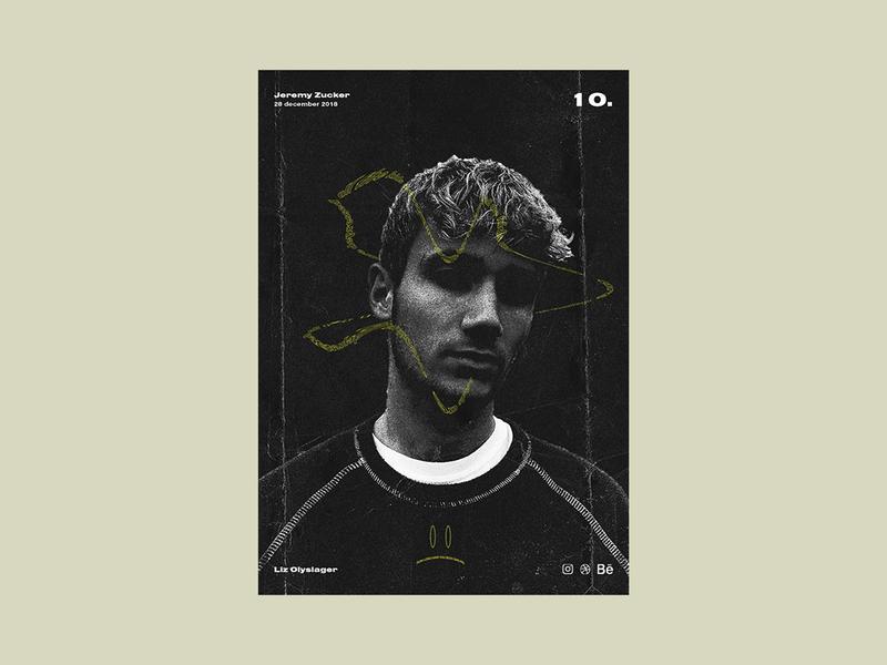 Poster day 10 - Jeremy Zucker