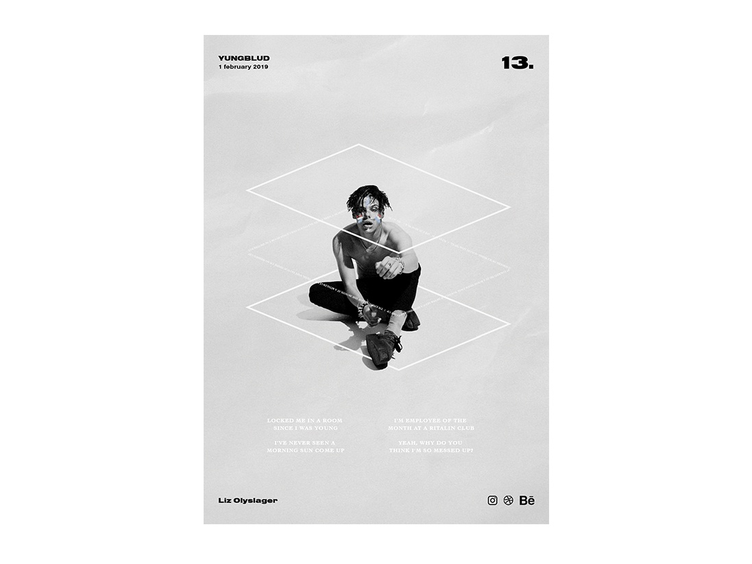 Poster day 13 - YUNGBLUD