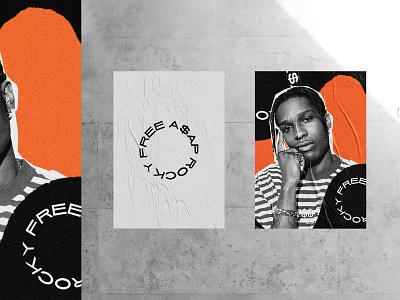 FREE A$AP ROCKY POSTER poster series poster musician rapper asap rocky a$ap rocky
