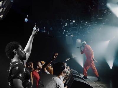 Danny Brown - photoshop visual music visual edit photoshop photograph rapper danny brown