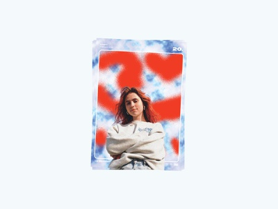Poster day 20 - Clairo visual poster series poster music industry music clairo