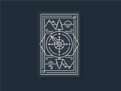 PNW Card Back Design