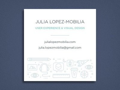 Business Card Front Design