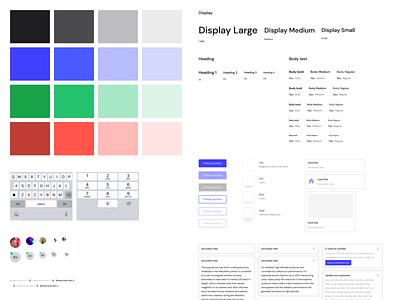 DM Sans payments dm sans branding layout flat ui system design design systems