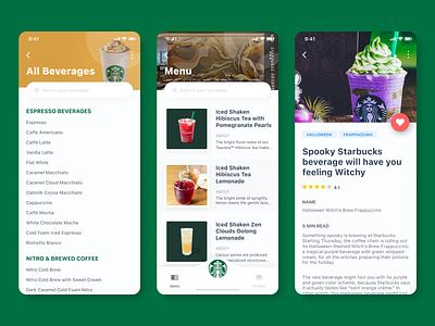 Starbucks Content + Directory design