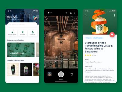 Starbucks Fan Photos design