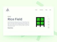 Kanji Rice Field