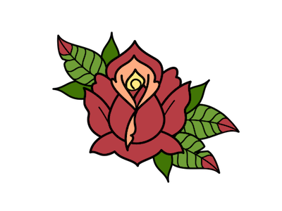 rose of my heart by dylan gregory dribbble. Black Bedroom Furniture Sets. Home Design Ideas