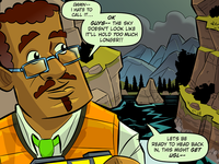 Tiny Oceans : The Institute, Narrative Into Comic