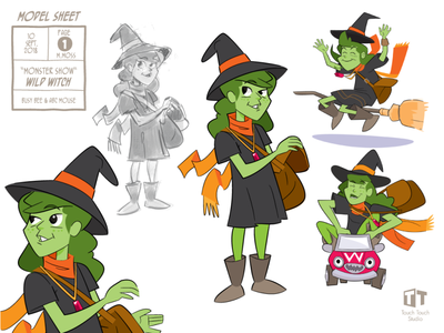 Model Sheet: Wicked Witch