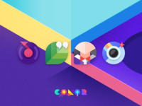 M Color Icons