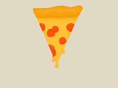 Pizza pizza food illustration