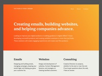 VP Design Website