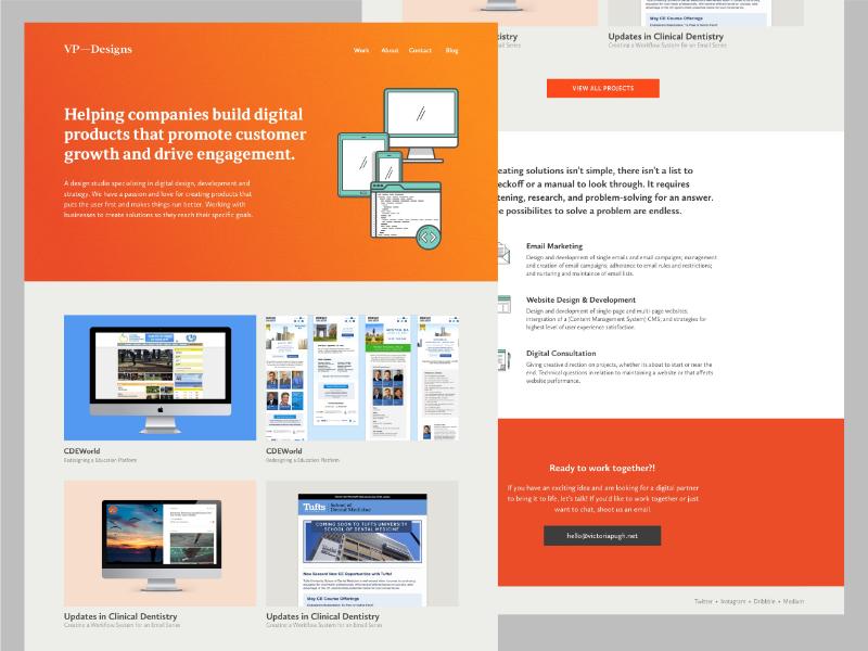 Vpdesigns website v3