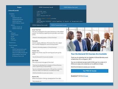 BespokeMail V2 ux ui design code email app dashboard
