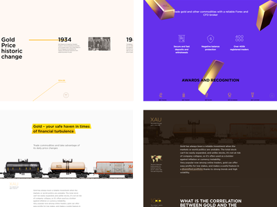 Gold history—Longread with Parallax gold price historic change rail wagon bars landing longread