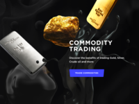 Commodity trading landing