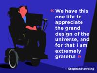 Stephen Hawking. 1942 — 2018