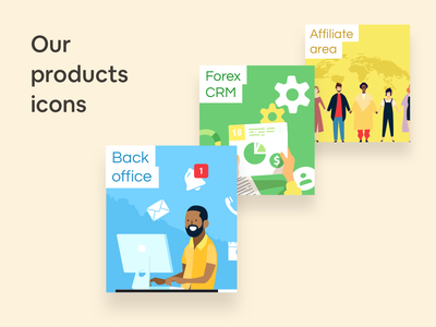 Our Products affiliate crm backoffice
