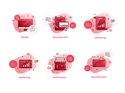 Web Agency Icon Set