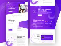 Moolya Software Testing Landing Page