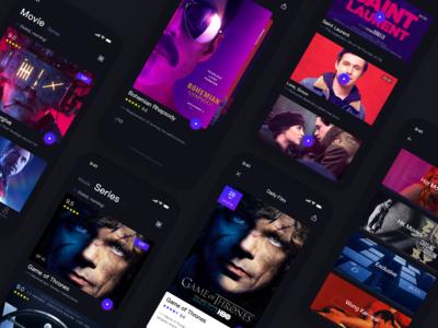 Dark Movie App