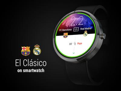 """""""El Clásico"""" On Smartwatch"""