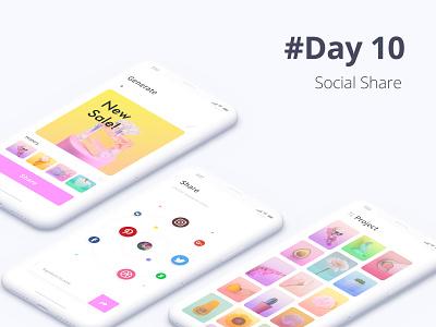 Post Generator mock up free free mockup share social mobile app photo app photo app desing digital ux web ui dailyui