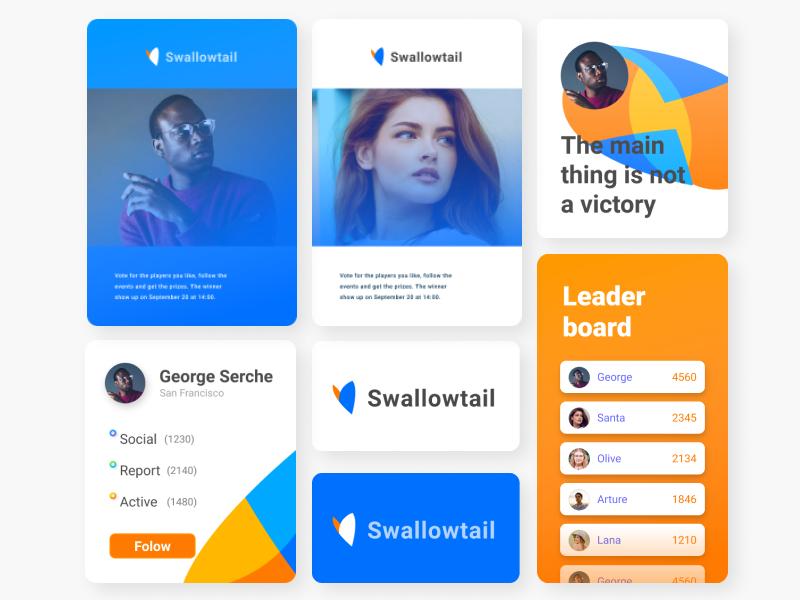 Day #19 Leaderboard butterfly graphic webdesign brand identity branding design logo dailyui website digital web ux ui