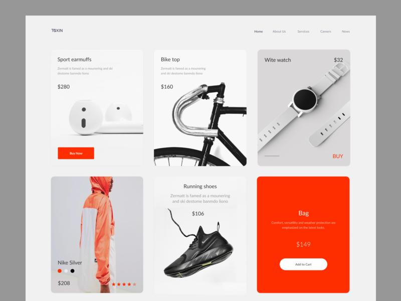 Day #23 Onboarding minimal webdesign site design shop web website dailyui digital ux ui onboarding