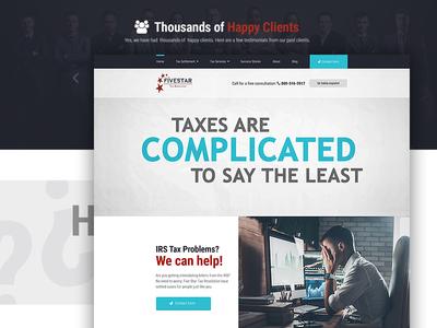 Fivestartaxresolution Webdesign