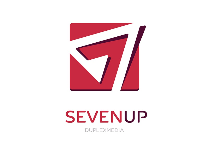 Seven Up Logo design team logo