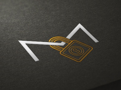 MailCrypt logo mark symbol lock logo