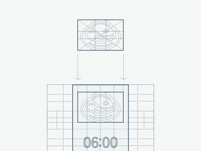Meal app - Elements construction interfacedesign dynamic symmetry dynamic sy ratios ratio grid design grid layout grid website design web design webdesign guidelines interface design interface gui