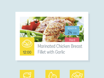 Meal app - Element gui interfacedesign interface design interface icons design icons set icon set icons icon website design web design