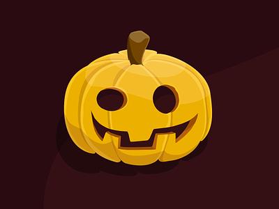 Pumpkin illustration halloween design halloween spooktober