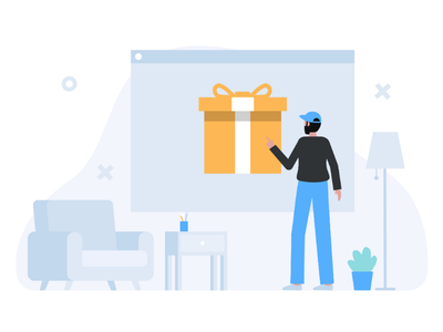 Avail offers website illustration web illustration uxui ux uiux ui illustration ui startup surprise gifts gift avail offeres offers onboarding illustration landing page illustration illustration app illustration