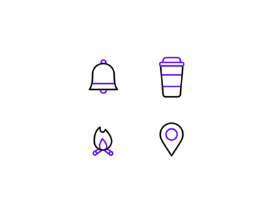 Free Animated Lottie icons - Unicorn icons unicorn icons icon design bodymovin after effects motion cup free freebie freebies coffee campfire motion graphics animation animated icons line icons app icon web icons location icon icon icons