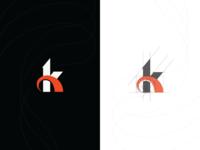 Grid 'K monogram'