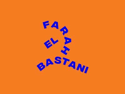 Farah El Bastani identity belgium antwerp fashion stylist consultant stylist logo branding fashion
