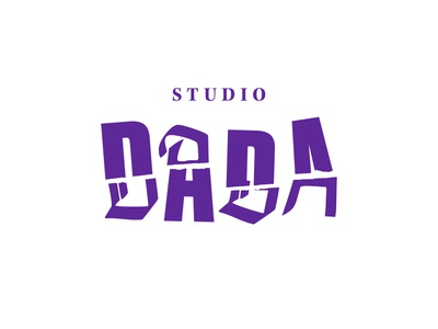 Studio Dada creative studio design graphic design identity lettering punk logo branding typography