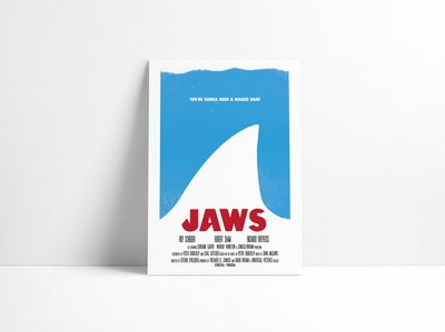 Jaws Movie Poster Redesigned