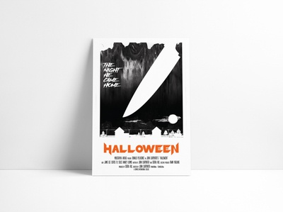 Halloween Movie Poster Redesign