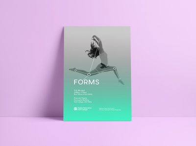 Forms Dance Poster