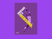 Nike Basketball Poster