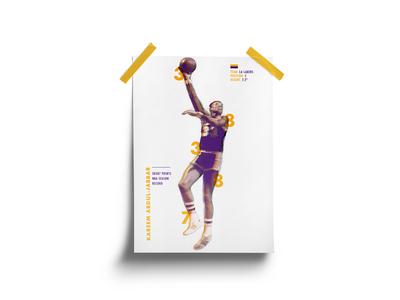 Kareem Abdul-Jabbar Poster